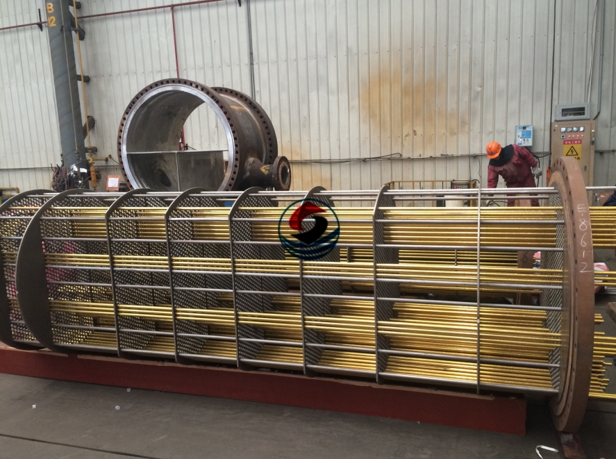 Fixed Tube Sheet (copper tube)